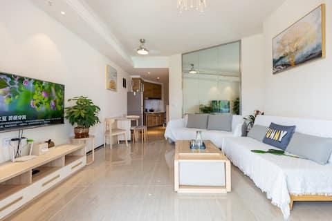 海花岛2号岛澜湾悦享精装大床休闲海景度假公寓