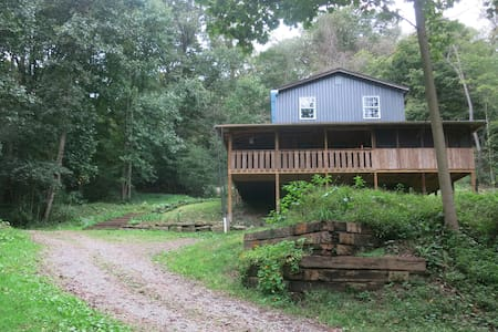 Cozy Cabin  at the Sow's Ear Farm - sleeps 16+