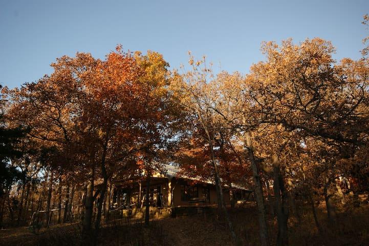 Joe's 30 acre wooded oasis - Coffeyville