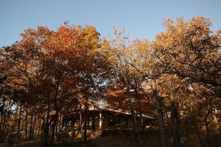 Joe's 30 acre wooded oasis - Coffeyville - House