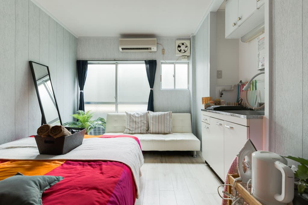 Simple Cozy room with Free Wifi