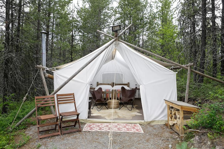 Under Canvas Glacier - Safari Tent - Coram - 텐트