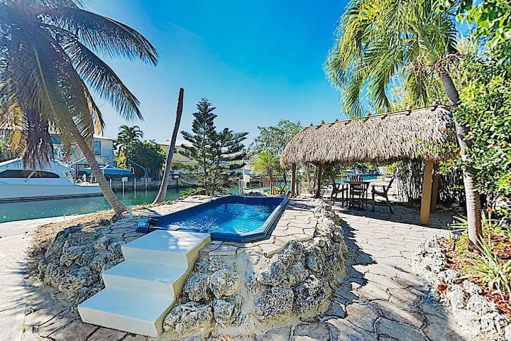 New Listing! Summerland Canal-Front Escape w/ Pool