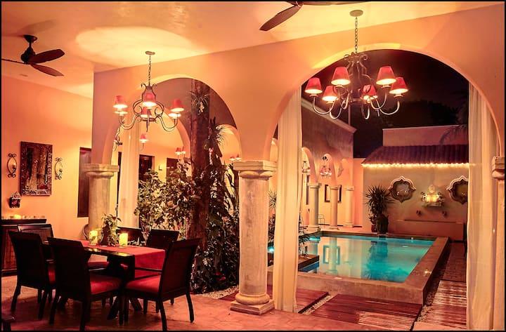 """""""OCHENTA Y DOS"""" Poolside Room Four"""