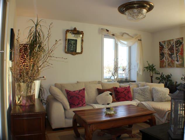 Spacious apartment with balcony near TELE2 ARENA