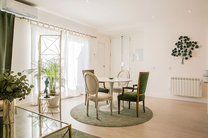 Stunning 1 bed w/sunny terrace in Madrid Center