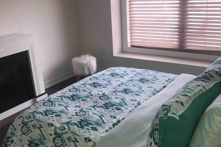 Cozy bedroom in new house