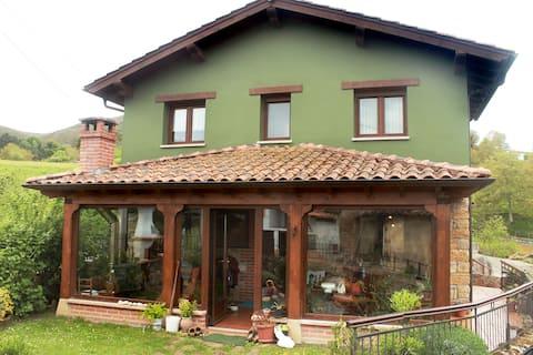 Casa rural en Asturias.  Zona Picos de Europa