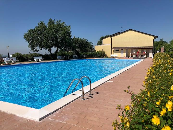 Sport e relax con vista sul lago di Garda
