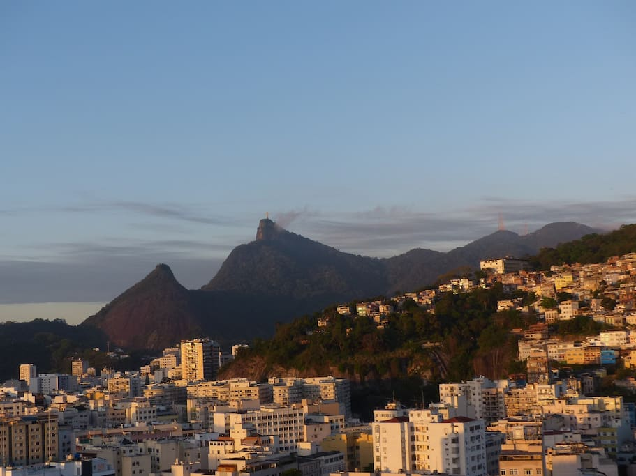 Corcovado from the terrace