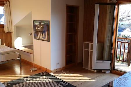 Chambre cosy avec vue Mont-Blanc - Vétraz-Monthoux