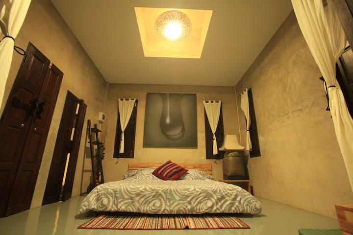 Aom-po room with 2 single beds, in Chiang Mai - Chiang Mai - Penzion (B&B)