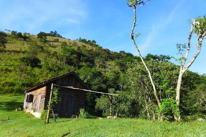 Cabana Encantada na Serra da Mantiqueira