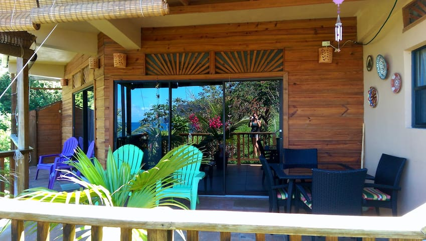 Oceanview 2 bedroom, Castara Roundhouse, Tobago - Castara - Byt