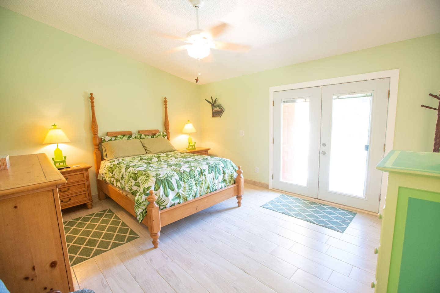 Master Bedroom with private lanai