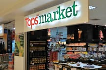 Tops Supermarket nearby with full range of local & international food supplies.