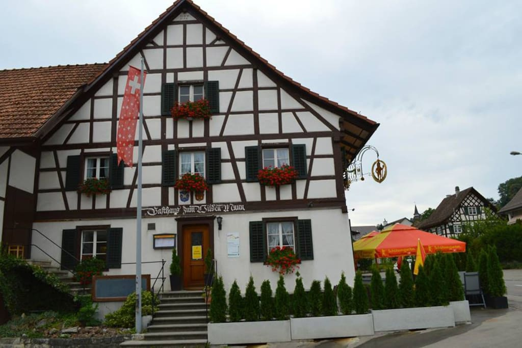 landgasthoff zum wilden mann bed and breakfasts for rent in neerach z rich switzerland. Black Bedroom Furniture Sets. Home Design Ideas