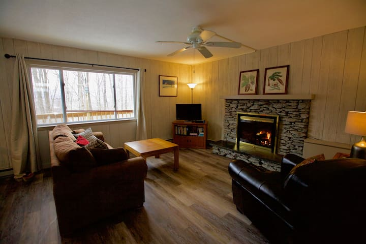 Renovated ski cabin near Bromley & Stratton  - Manchester Center