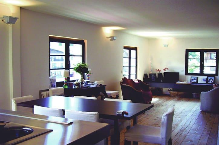 Design Cozy Chalet Megève center - Megève - Apartemen