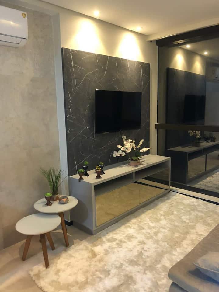 Flat Beira Mar Luxo - Completo Edf Barra Home Stay