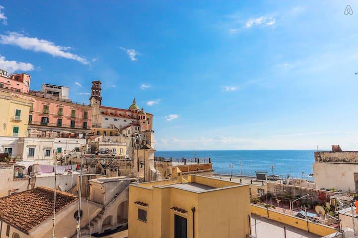 Great view on the Amalfi Coast - Atrani - Appartement