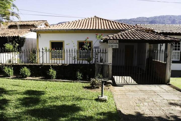 Casa com vista para a Serra de São José.