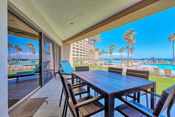 Luxury 5★ 2BR/2BA Ground Floor Beach Front Condo