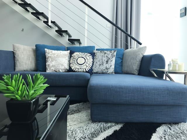 KOZIE | Urban Waterfront Duplex Suite @ Penang