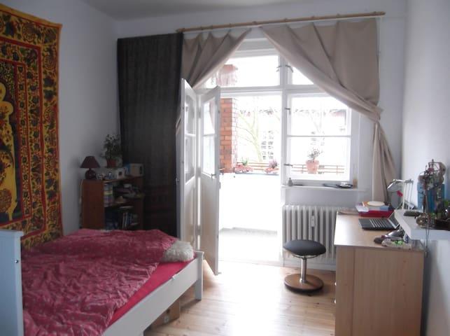 Gemütliches Zimmer in schöner 2-Raumwohnung - Берлин - Квартира