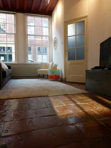 Furnished apartment in 17th century monument - Leiden - Apartament