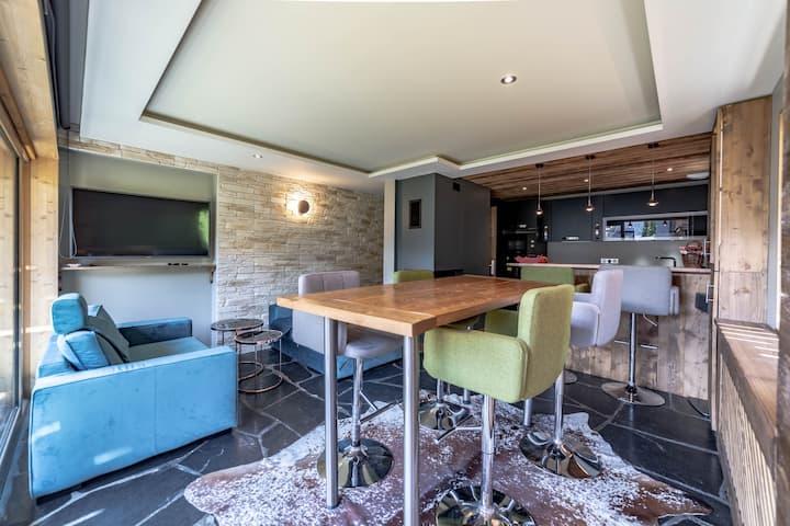 Airelles | Beautiful renovated apartment near the ski slopes