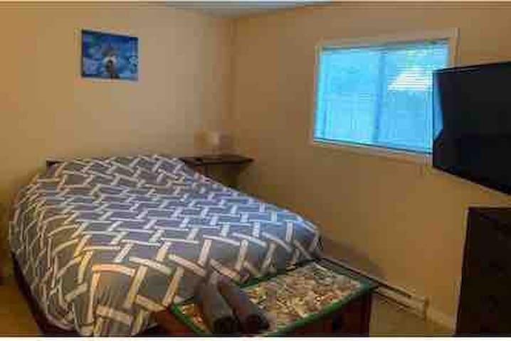 Central cozy garden suite