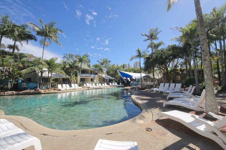 Poolside townhouse Diamond Beach Resort #35