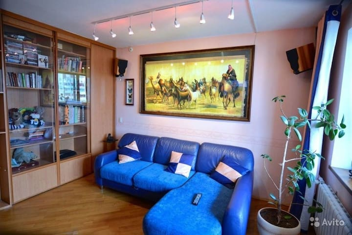 Большая 4комн Квартира  100 кв м - Kaluga - Apartment