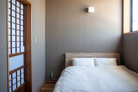 ★Near Sawara station - HOSTEL Co-EDO double bed★