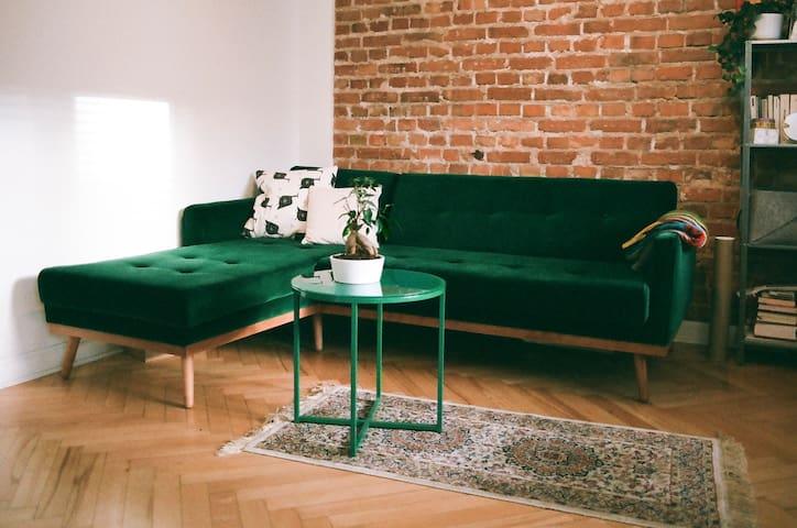 Stylish Apartment on Warsaw's Praga