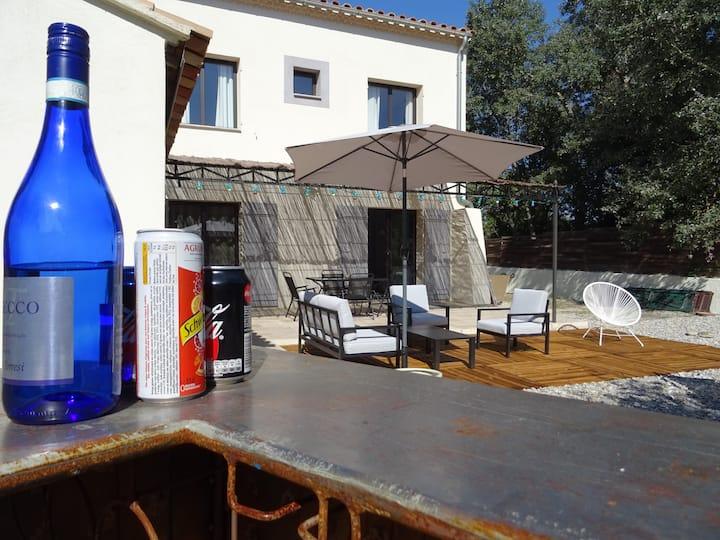 Appartement F3, RdC 50m2  au calme en Provence