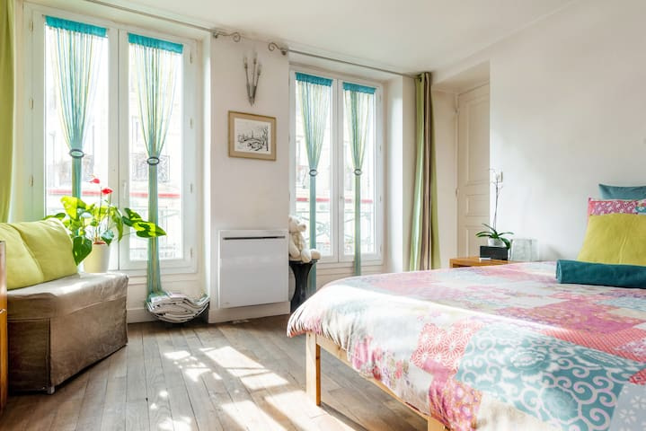 Lovely bedroom - Center of Paris - Paris - Wohnung