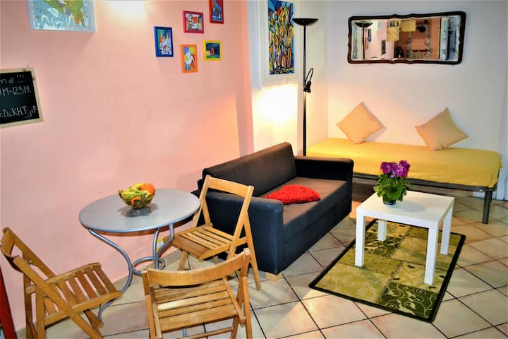 Small flat in center of Palermo
