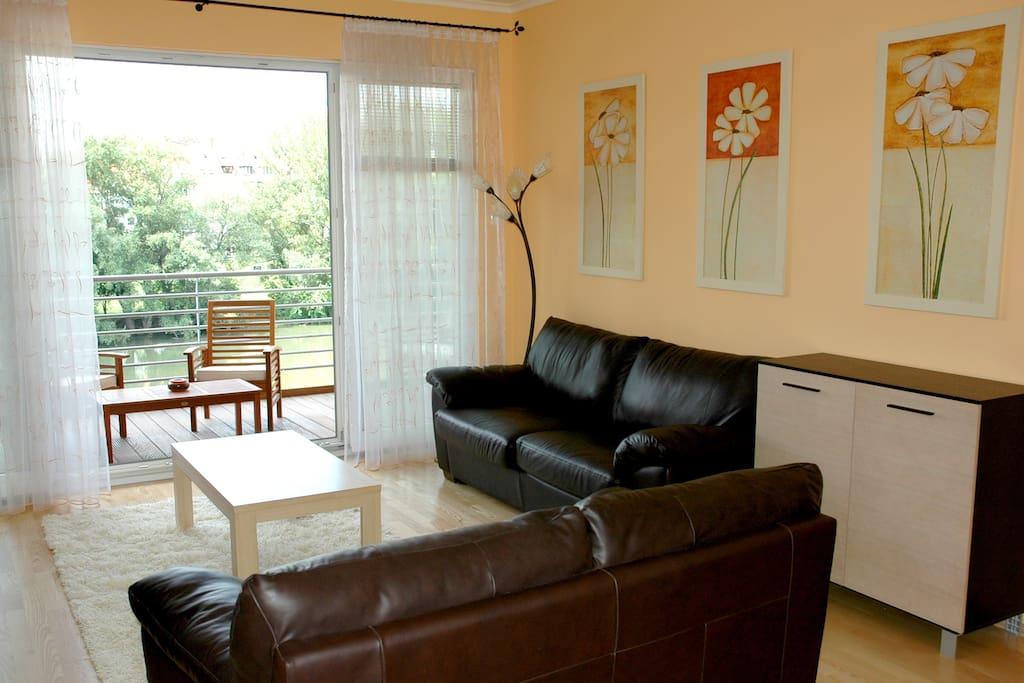 nappali és a kilátás