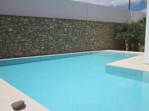 Bedroom , Bathroom , Summer Lounge Pool View
