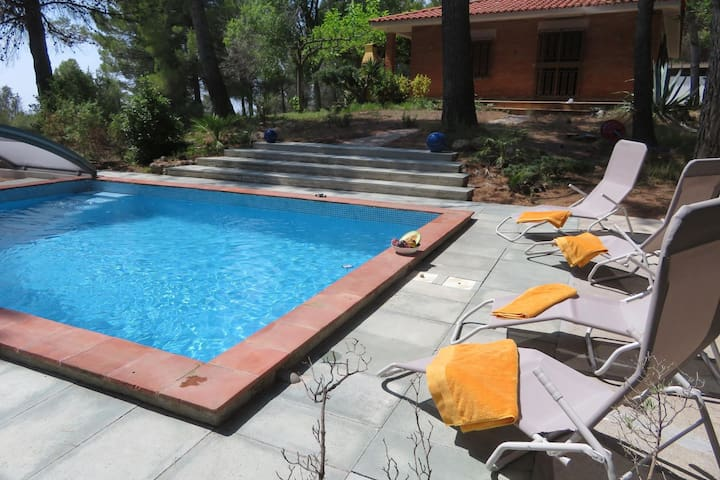 Beautiful Holiday Home in Font-rubi with Private Pool