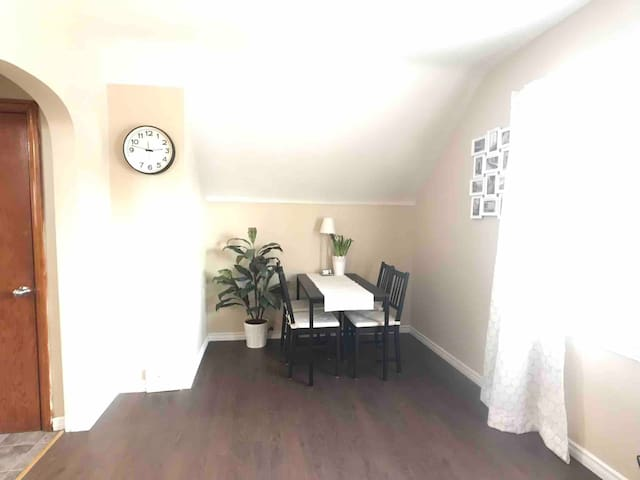 1 bedroom apartment short or long term