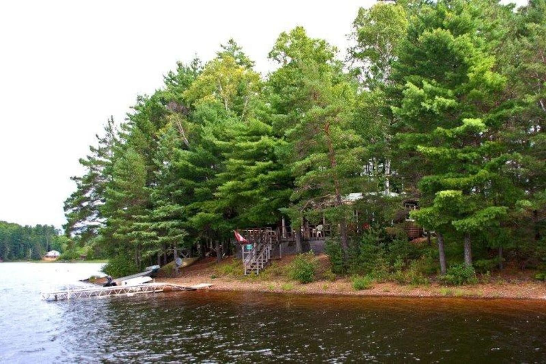 Private Island near Algonquin Park