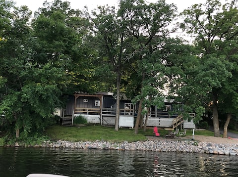 Recently renovated home on Little Cormorant Lake