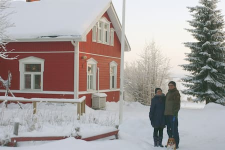 Authentic Lapland homestay (all-inclusive)