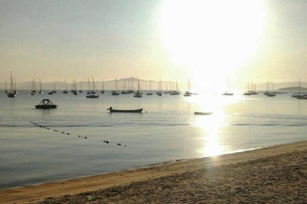 Por do sol em Santo Antônio de Lisboa.