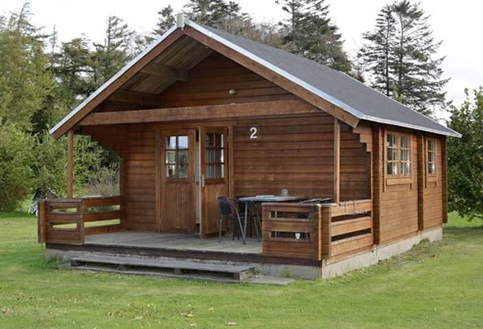 Skøn camping hytte