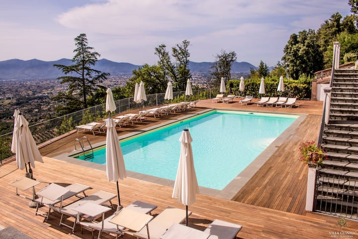 Villa Guinigi Lucca- Experience an emotion in flat