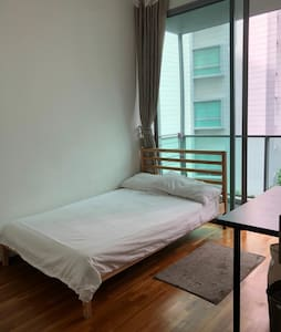 Common room with balcony